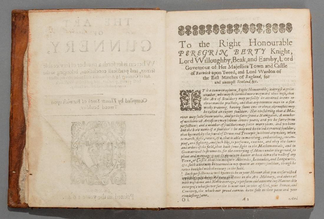 """Smith, Thomas """"The Art of Gunnery"""", 1643 - 3"""