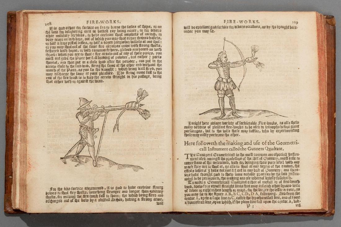 """Smith, Thomas """"The Art of Gunnery"""", 1643 - 4"""