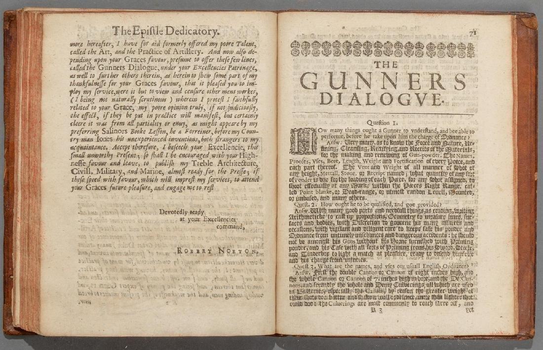 """Smith, Thomas """"The Art of Gunnery"""", 1643 - 5"""