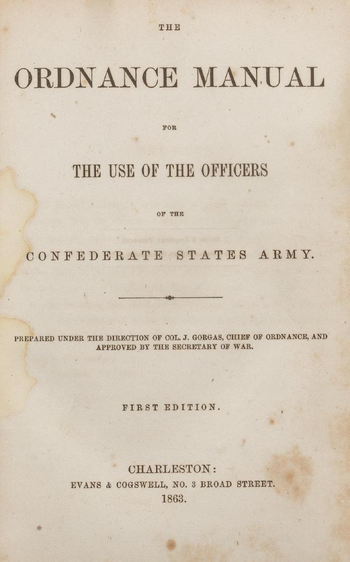 Gen. William Preston's Confederate Ordnance Manual