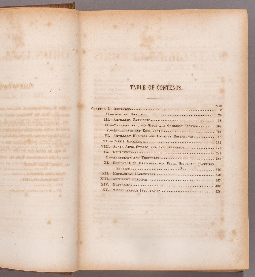 1863 Ordnance Manual, Confederate States Army - 3