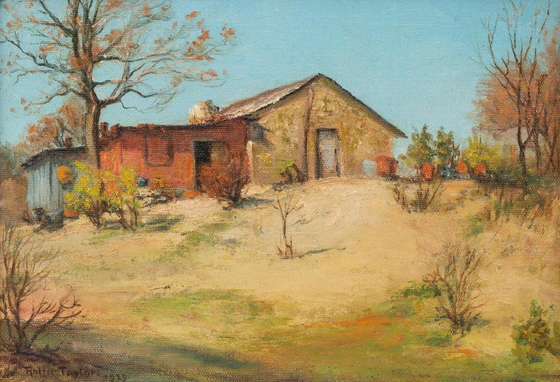 Rolla Taylor (1872-1970), Country Home, 1935, oil