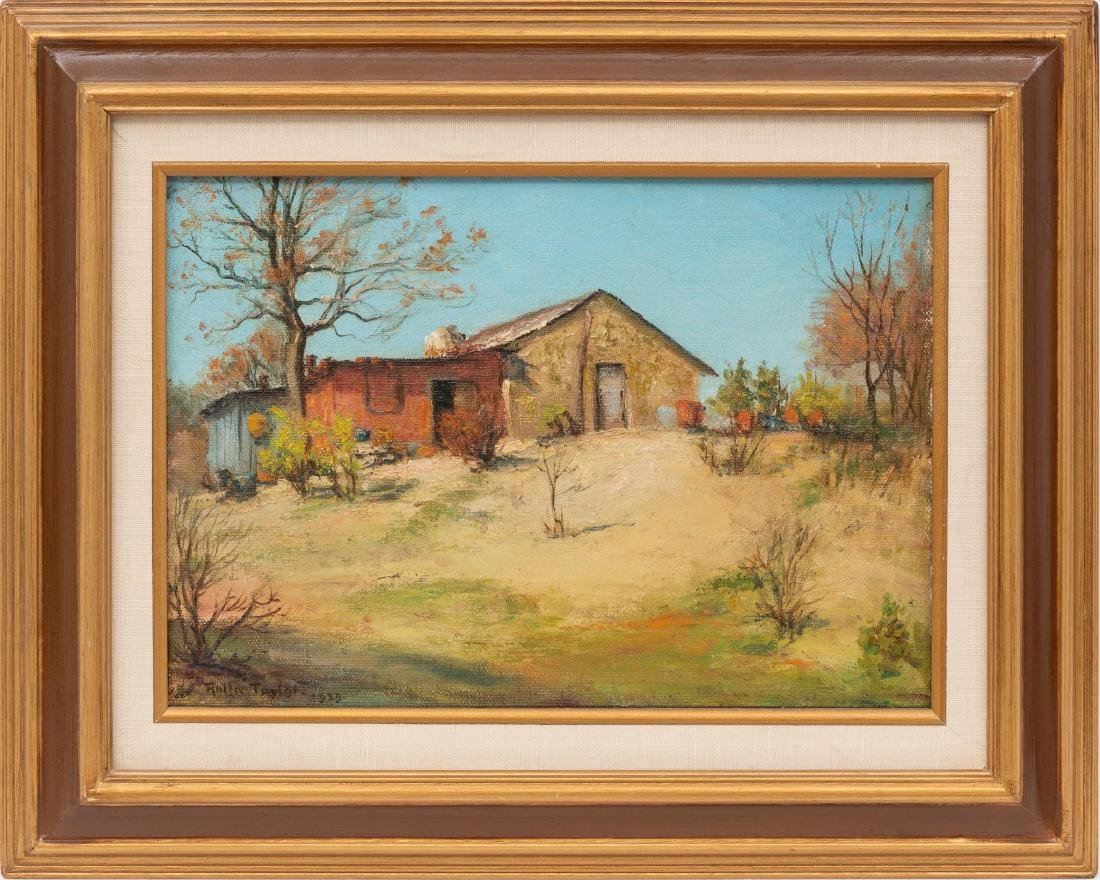 Rolla Taylor (1872-1970), Country Home, 1935, oil - 2