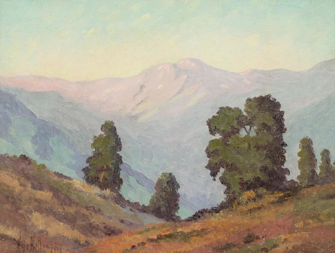 Hale Bolton (1885-1920), Mountain Landscape, 1917, oil