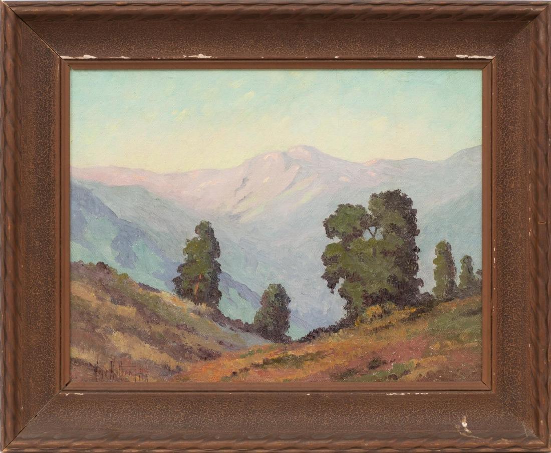 Hale Bolton (1885-1920), Mountain Landscape, 1917, oil - 2