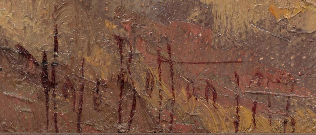 Hale Bolton (1885-1920), Mountain Landscape, 1917, oil - 3