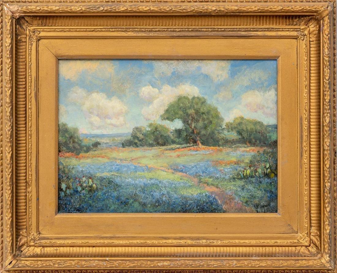 "Jerry Malzahn (b. 1946), ""Willow Loop"", oil on board, - 2"