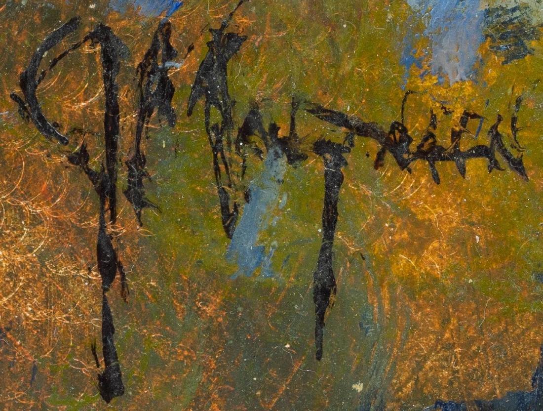"Jerry Malzahn (b. 1946), ""At the Water Tank"", oil - 3"
