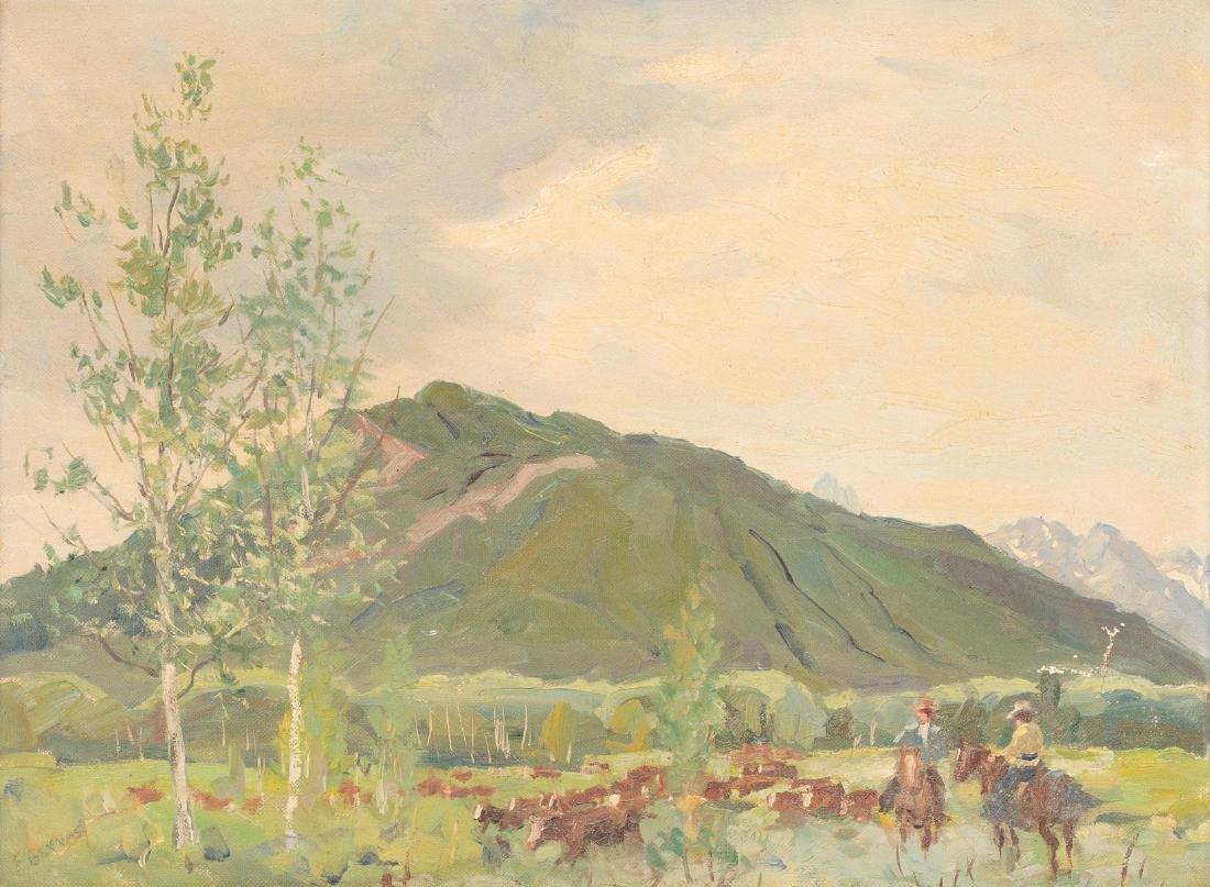 Frank Gervasi (1895-1986), Pair of Landscapes, oil - 2