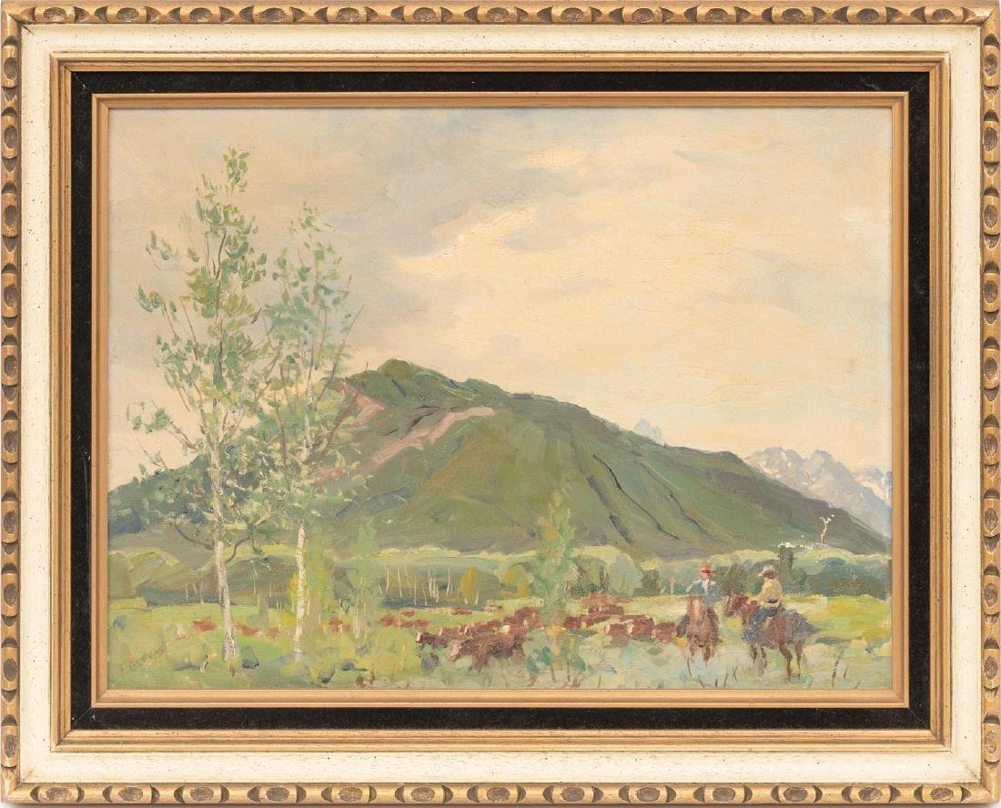 Frank Gervasi (1895-1986), Pair of Landscapes, oil - 3