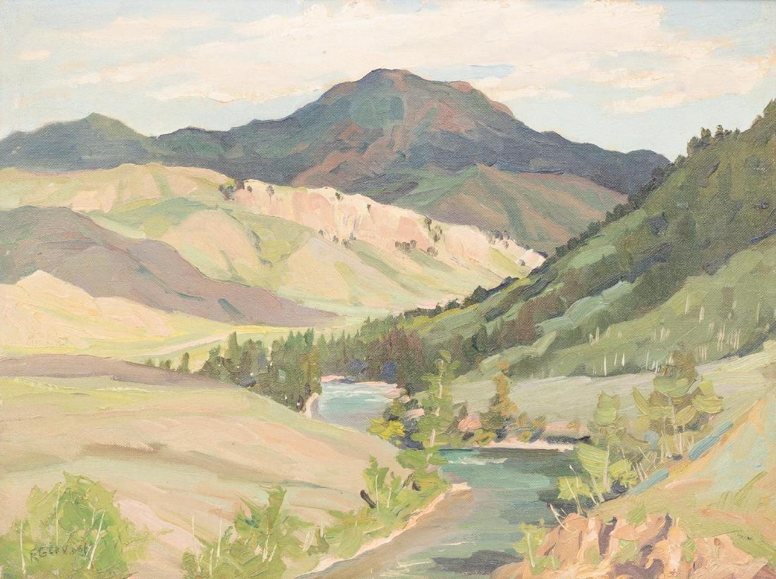 Frank Gervasi (1895-1986), Pair of Landscapes, oil - 6