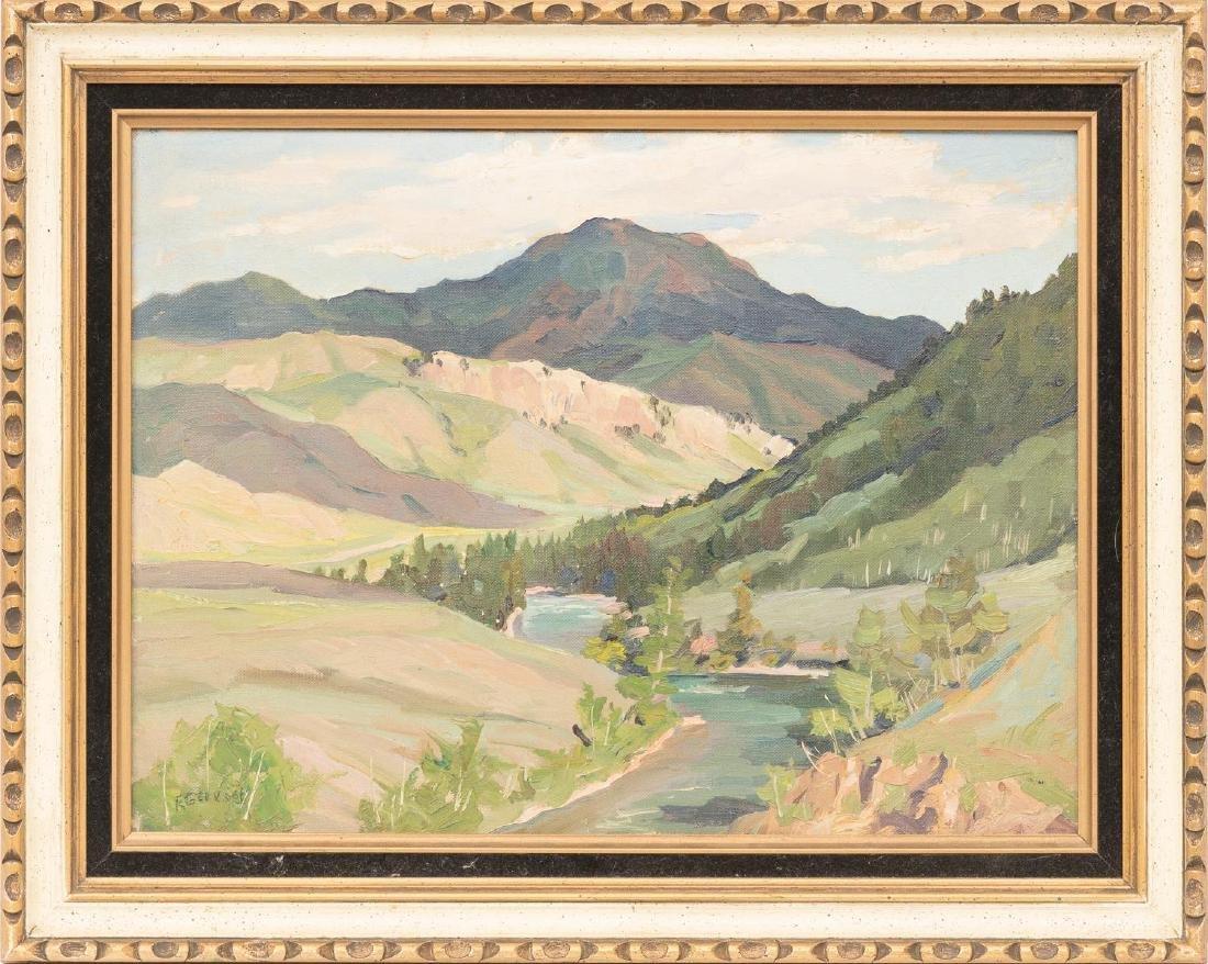 Frank Gervasi (1895-1986), Pair of Landscapes, oil - 7