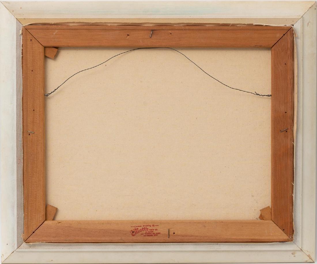 Vivian Love (1908-1982), Riverside, oil on canvas - 4