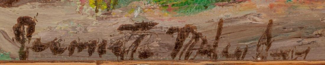 Jeanette Milam Jones (1903-1989), Red Farm House, oil - 3