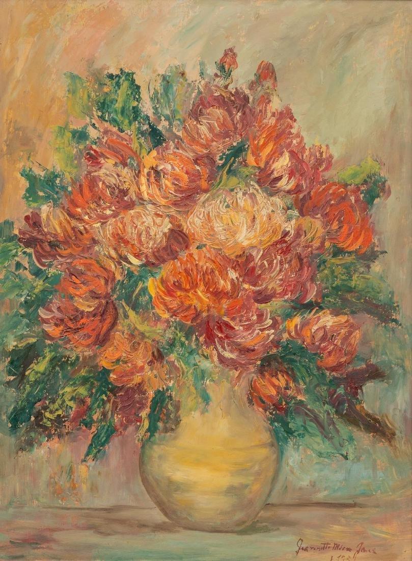 Jeanette Milam Jones (1903-1989), Floral Still Life,