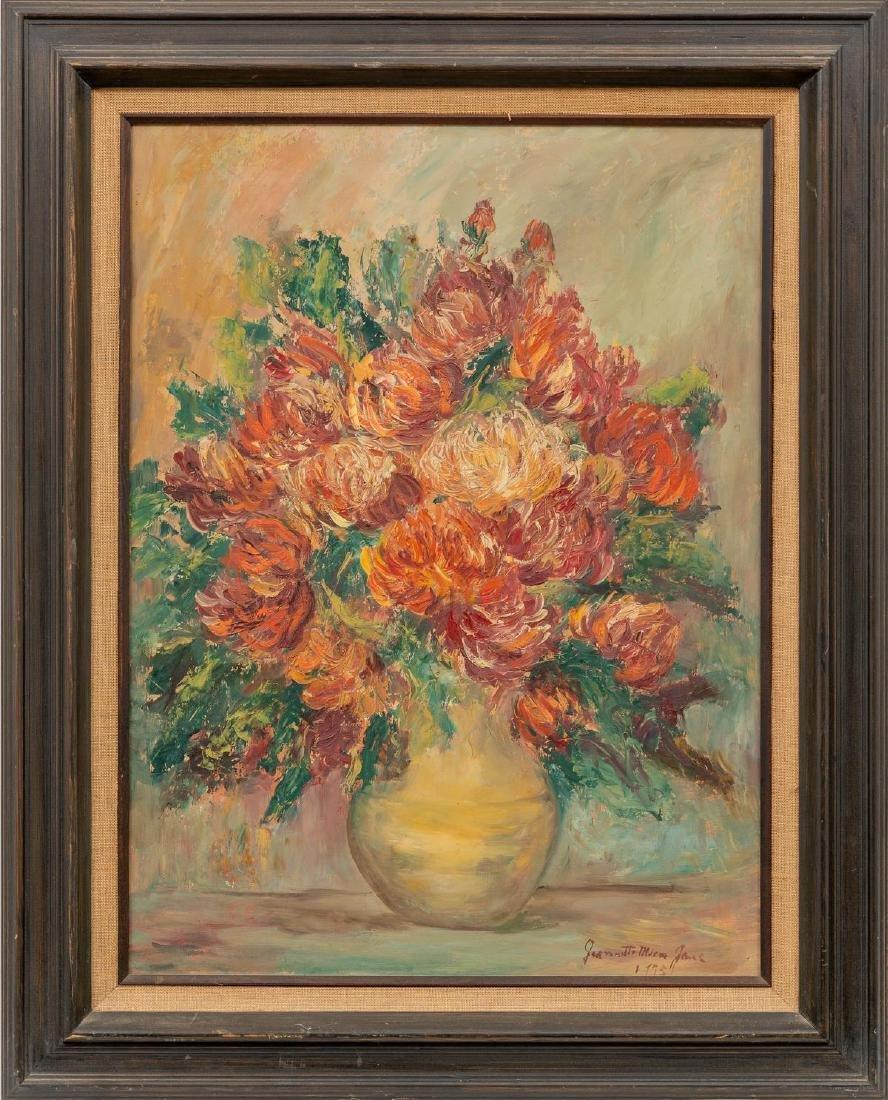Jeanette Milam Jones (1903-1989), Floral Still Life, - 2