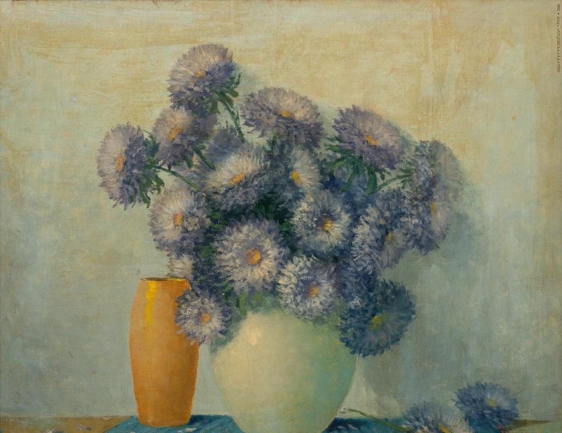 A.D. Greer (1904-1998), Floral Still Life, oil