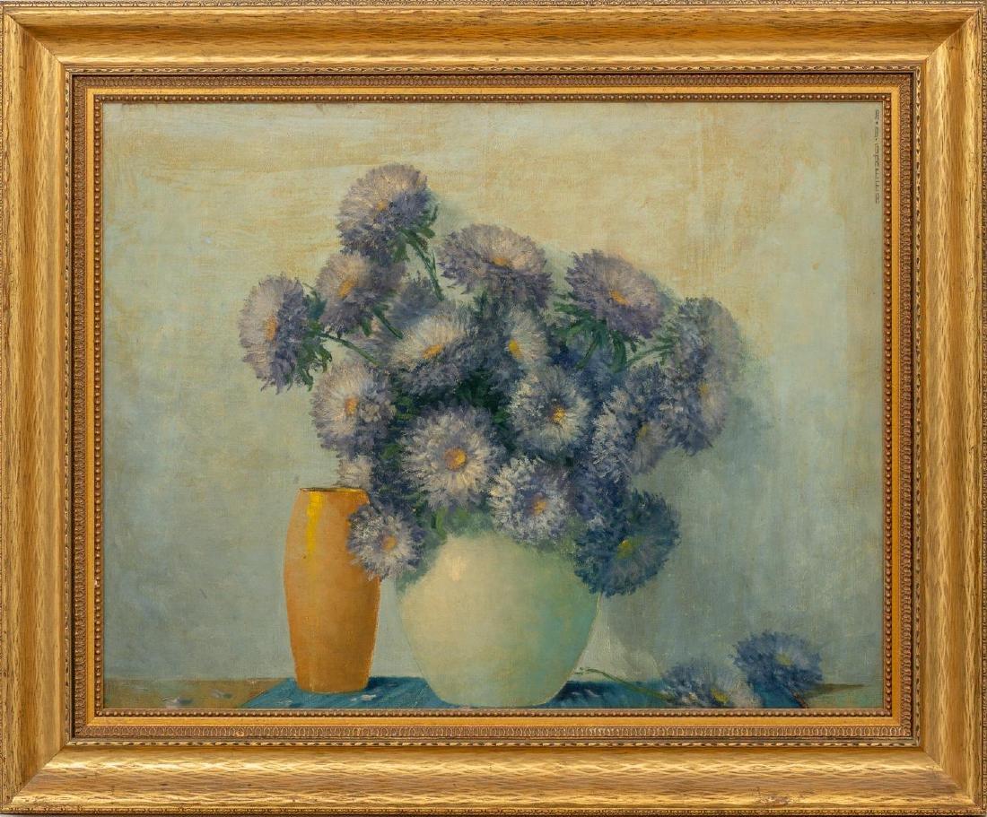 A.D. Greer (1904-1998), Floral Still Life, oil - 2