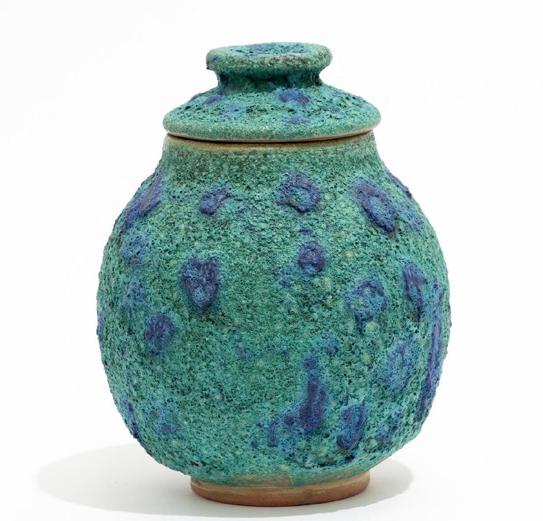 Harding Black (1912-2004), Turquoise Spotted Ginger Jar - 3