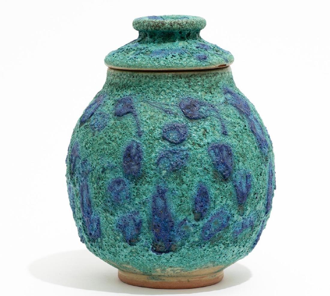 Harding Black (1912-2004), Turquoise Spotted Ginger Jar - 4