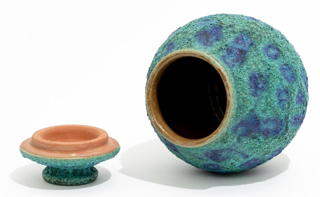 Harding Black (1912-2004), Turquoise Spotted Ginger Jar - 5