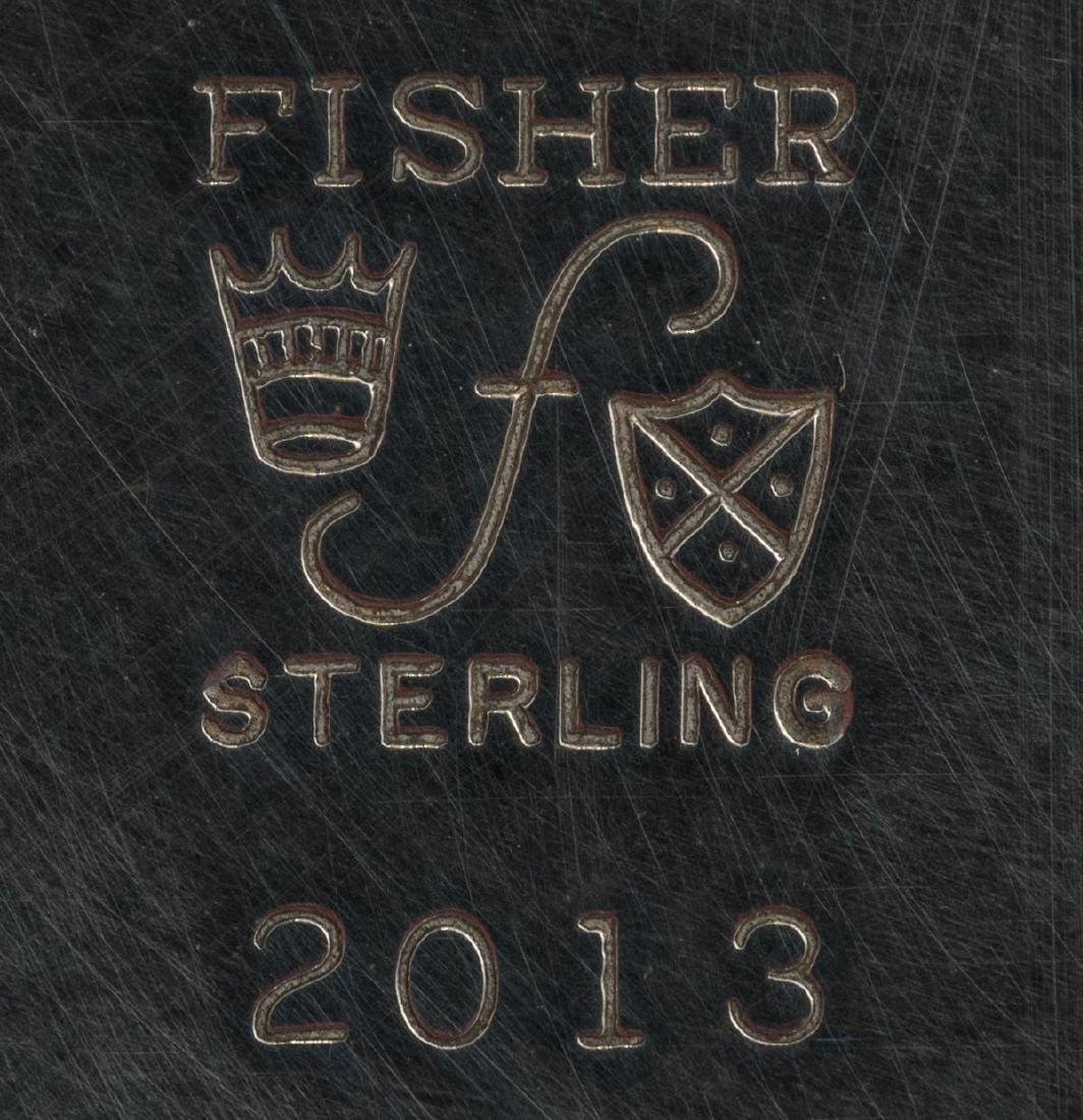 Fisher Sterling Silver Water Pitcher - 6