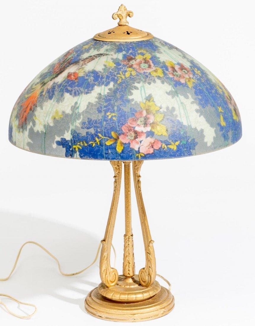 "Handel ""Birds of Paradise"" Lamp - 2"