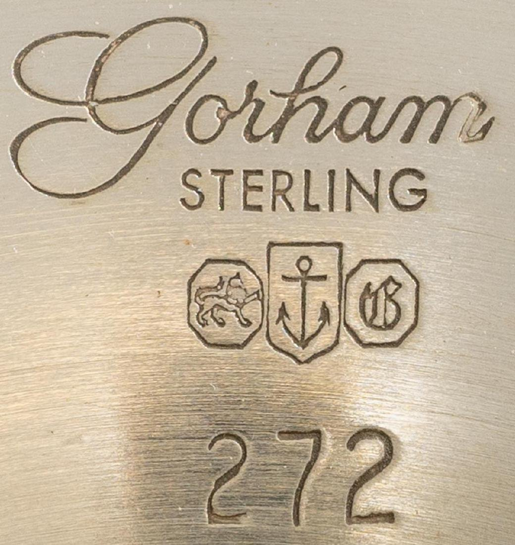 Set 10 Sterling Goblets by Gorham - 2