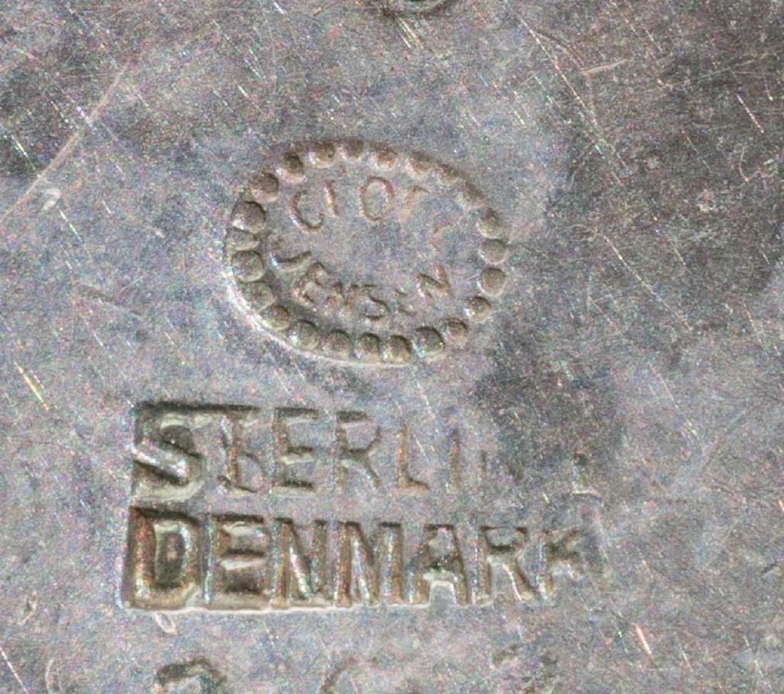 Georg Jensen (Denmark, 20th century), Sterling Brooch - 3