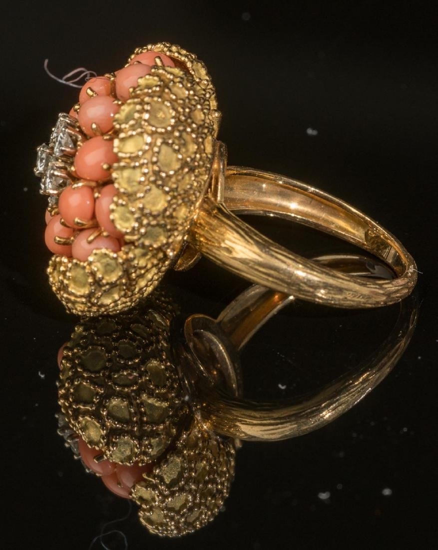 Tivol (France, 20th century), Diamond, Coral & Gold - 2