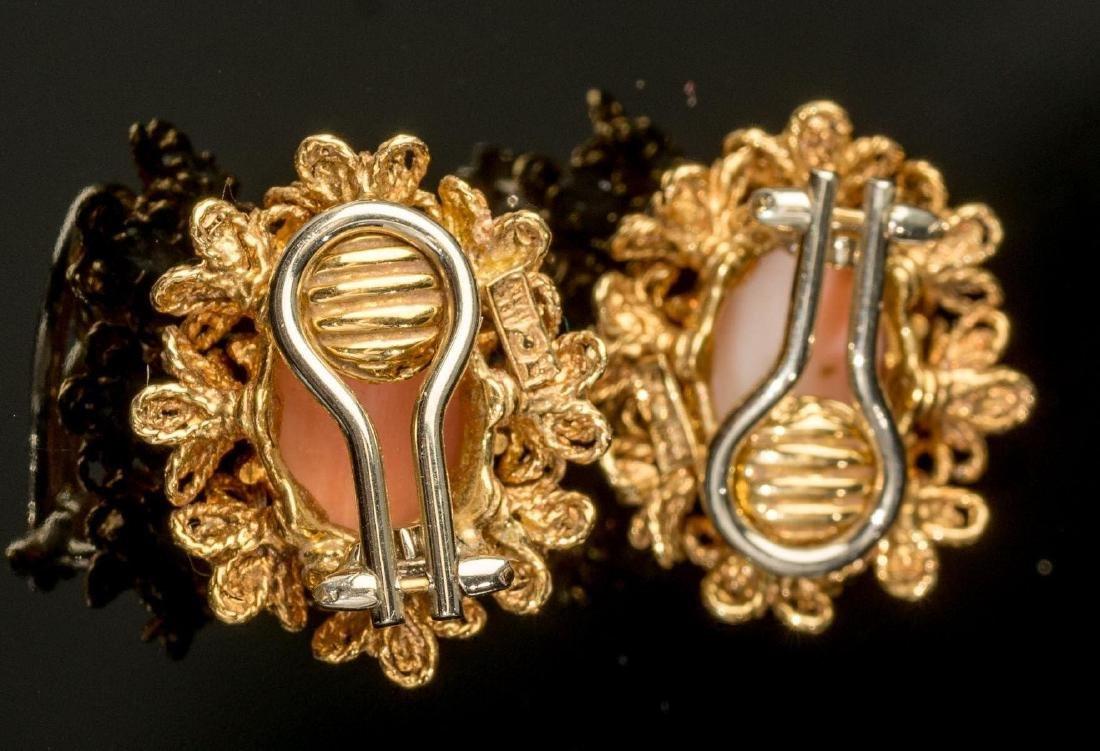 Italian (20th century), Diamond, Coral, 18k Gold - 2
