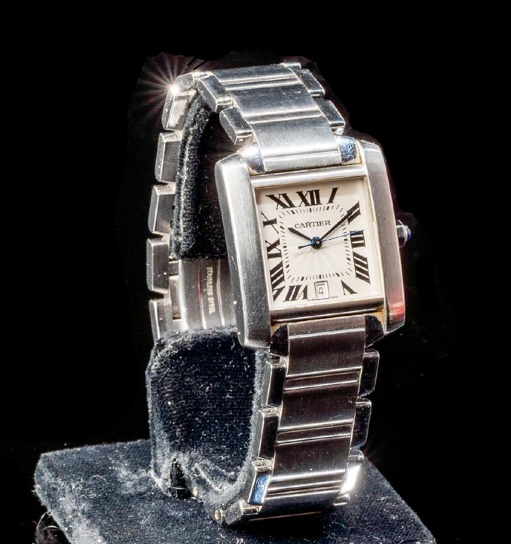 Cartier Tank Francaise Ref. 2302 Swiss Watch