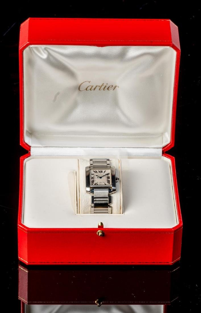 Cartier Tank Francaise Ref. 2302 Swiss Watch - 2