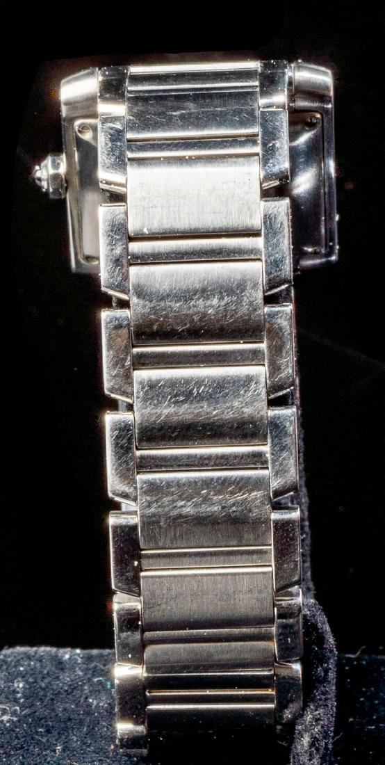 Cartier Tank Francaise Ref. 2302 Swiss Watch - 3