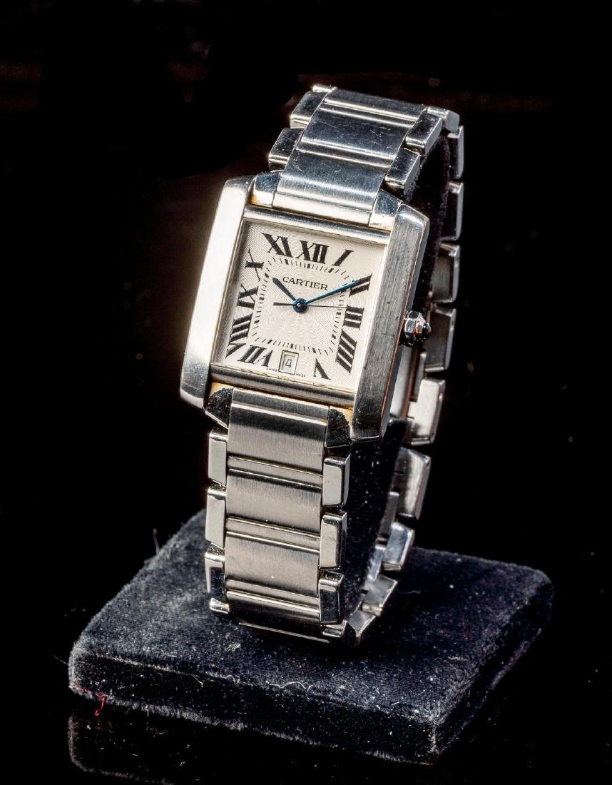Cartier Tank Francaise Ref. 2302 Swiss Watch - 4