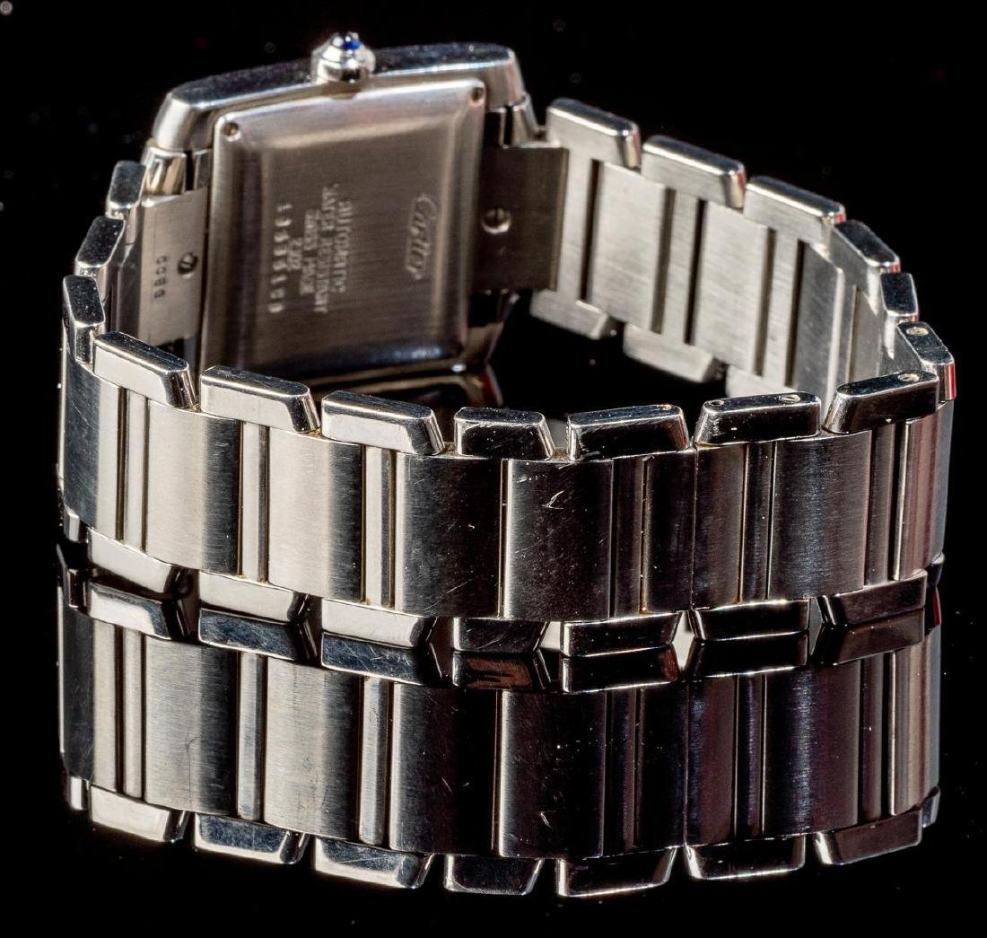 Cartier Tank Francaise Ref. 2302 Swiss Watch - 5