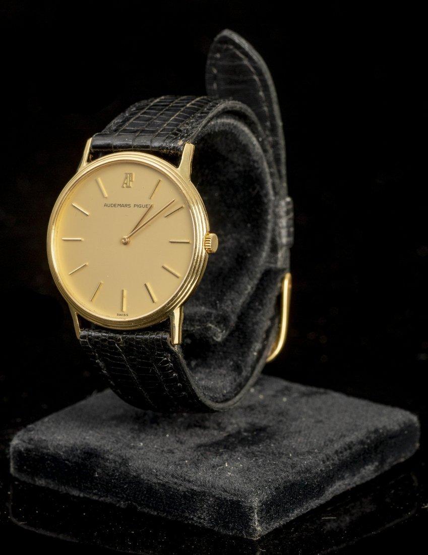 Audemars Piguet (Swiss, 1980's), Gold Wrist Watch