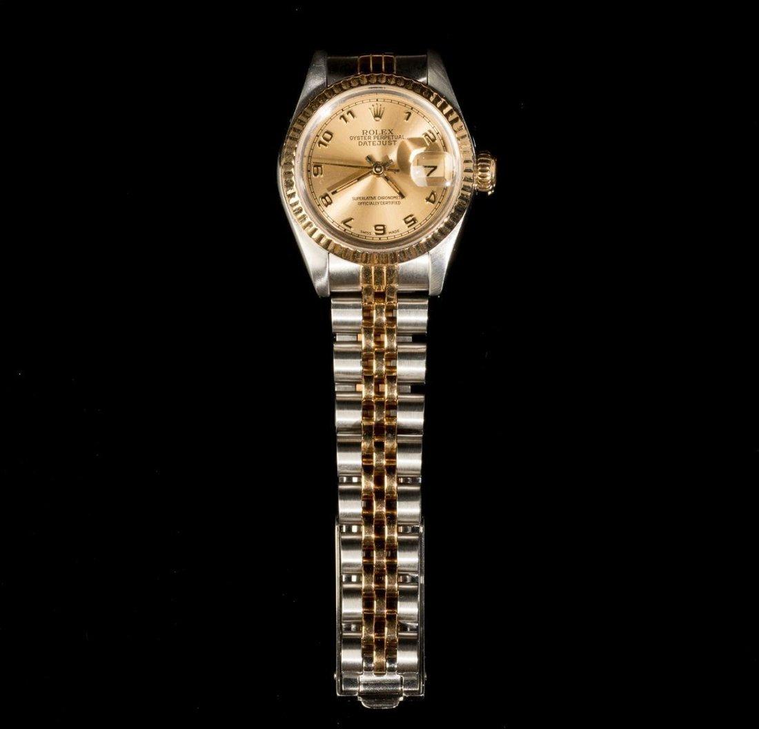 Ladies' Two-Tone Rolex Model 69173 - 2