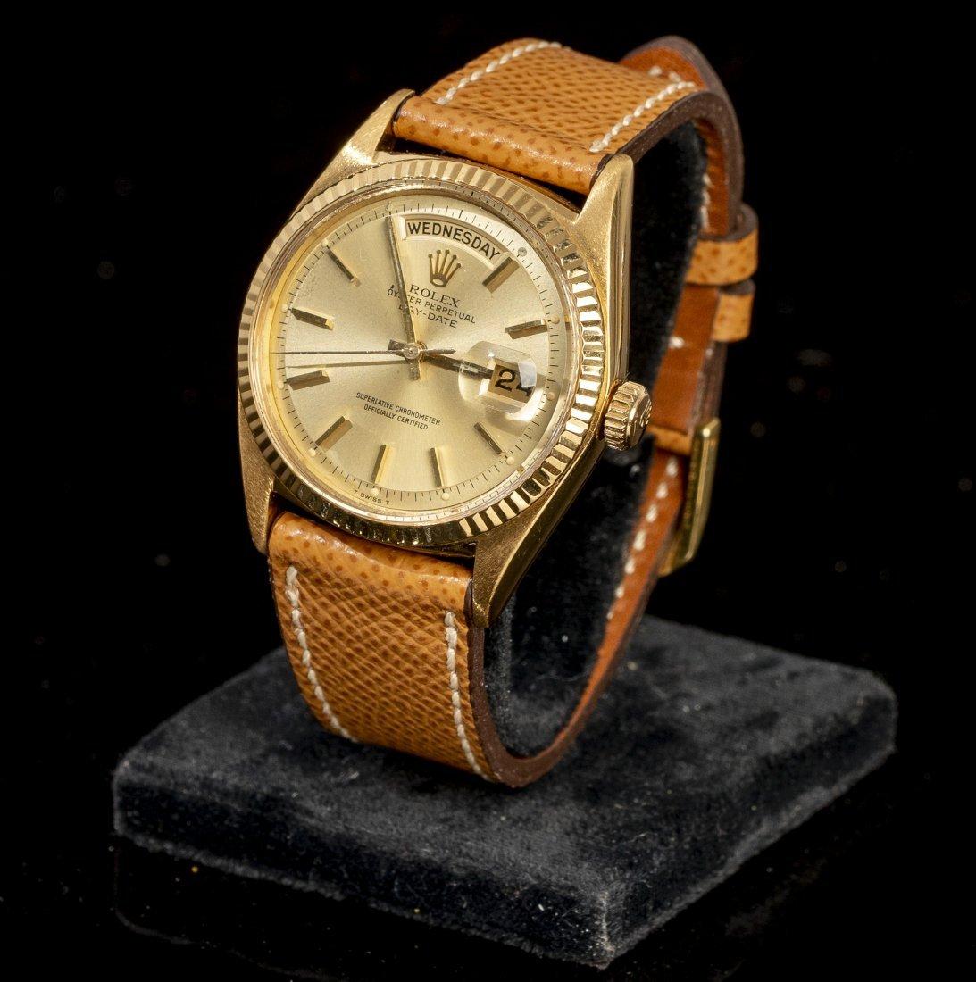 18k Gold Rolex President Model 1803 Day-Date