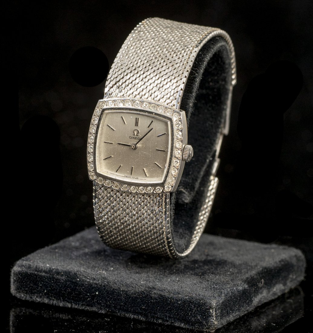 Omega, Switzerland, 18k Gold Wrist Watch