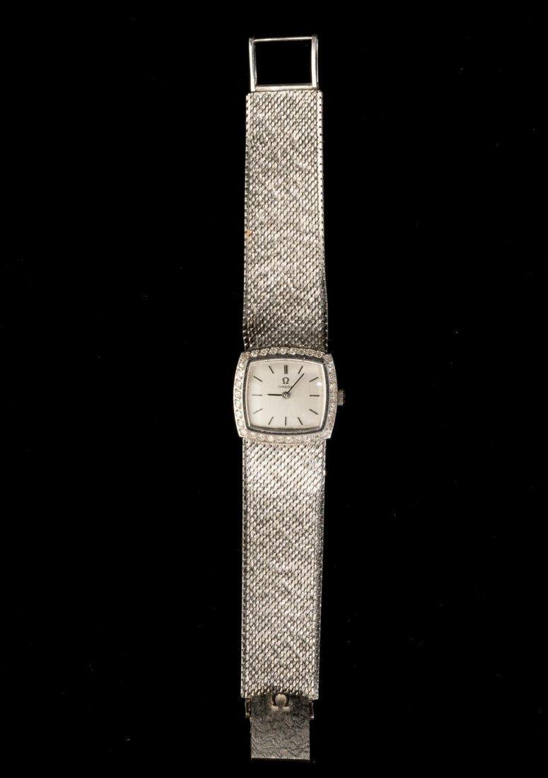Omega, Switzerland, 18k Gold Wrist Watch - 2