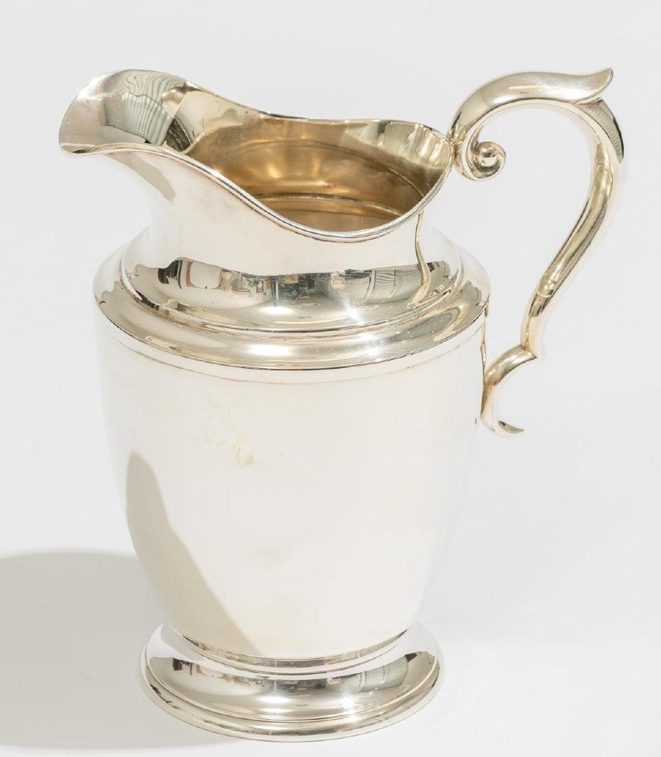 Alvin Sterling Silver Pitcher