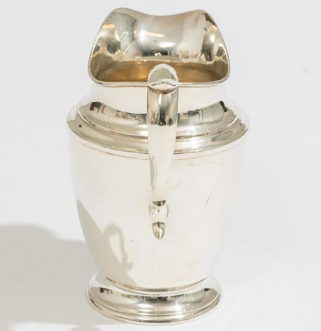 Alvin Sterling Silver Pitcher - 2