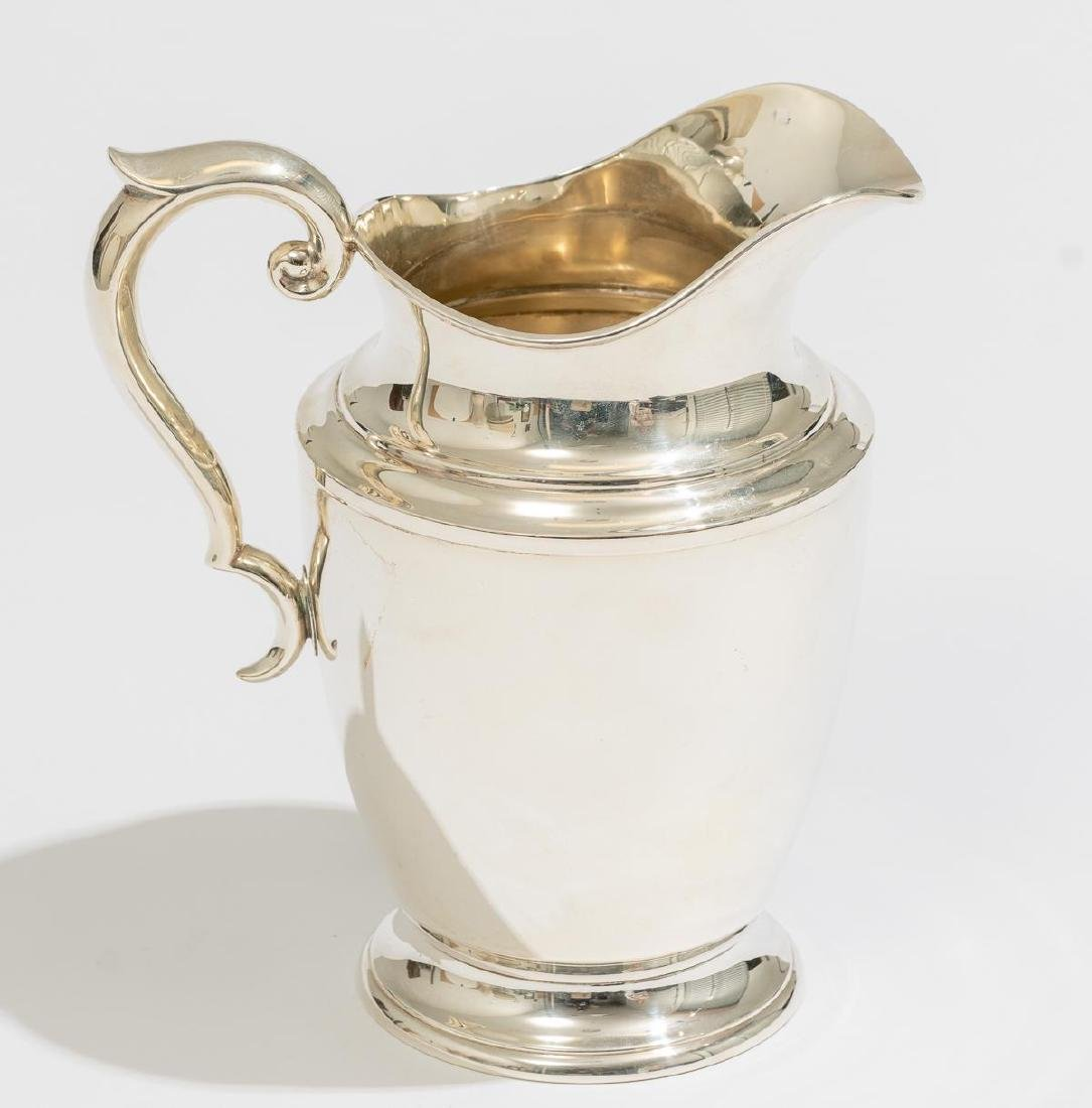 Alvin Sterling Silver Pitcher - 3