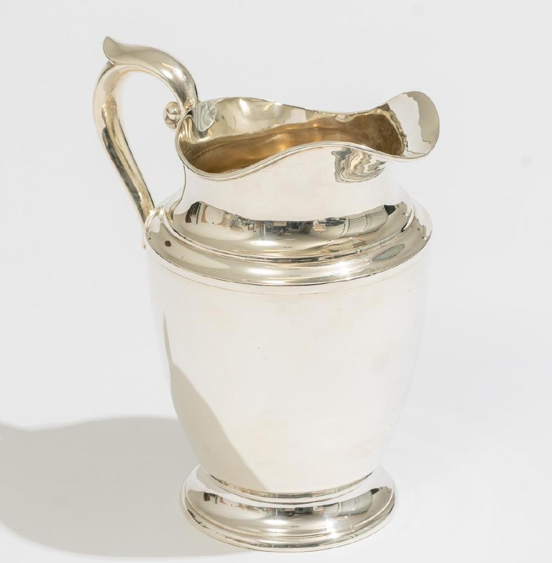 Alvin Sterling Silver Pitcher - 4
