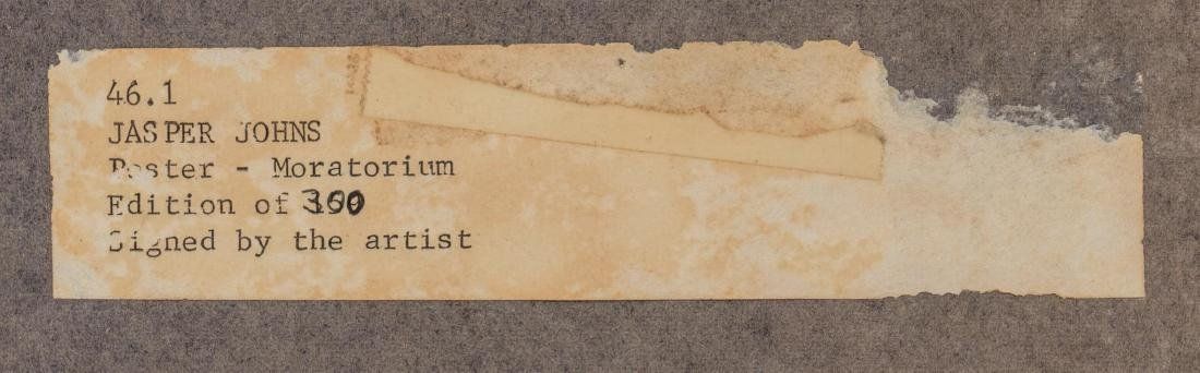 "Jasper Johns, ""Flag (Moratorium)"", 1969, 159/300 - 6"
