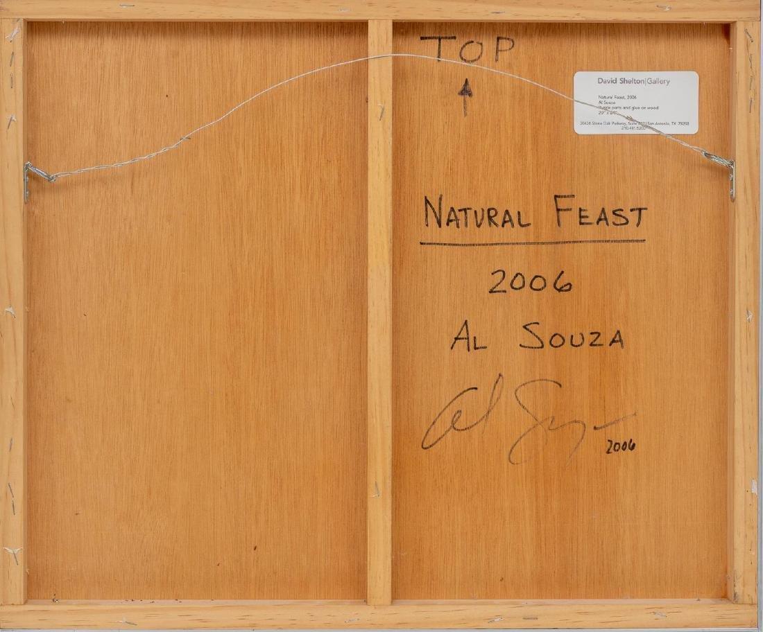 """Al Souza (Texas, b. 1944), """"Natural Feast"""", 2006, - 3"""