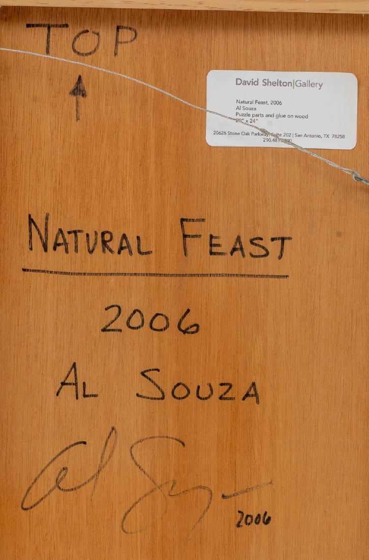 """Al Souza (Texas, b. 1944), """"Natural Feast"""", 2006, - 4"""