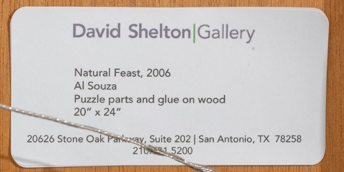 """Al Souza (Texas, b. 1944), """"Natural Feast"""", 2006, - 5"""