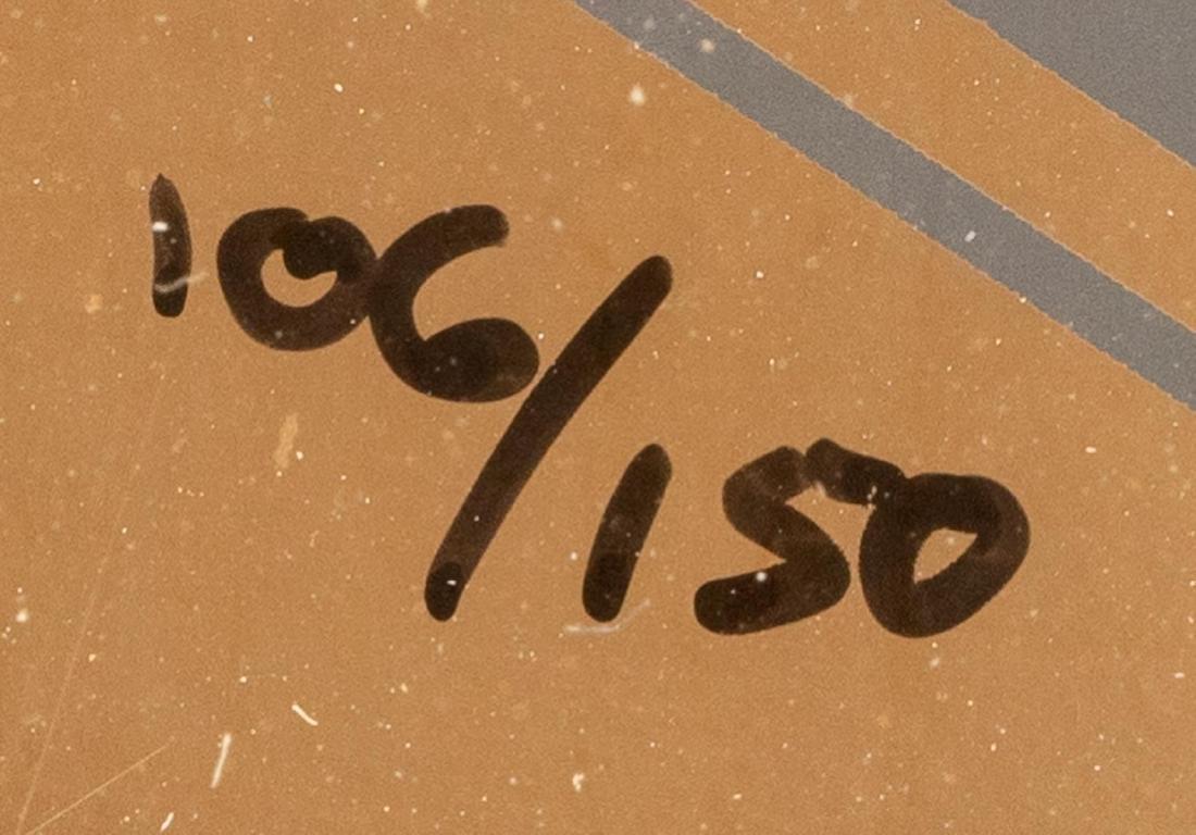 "Victor Vasarely (1906-1997), ""Vega Kocka"", Serigraph on - 3"